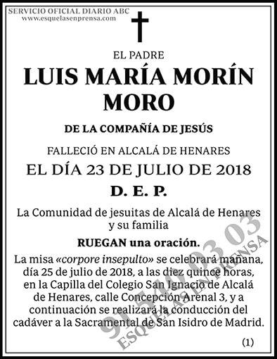 Luis María Morín Moro